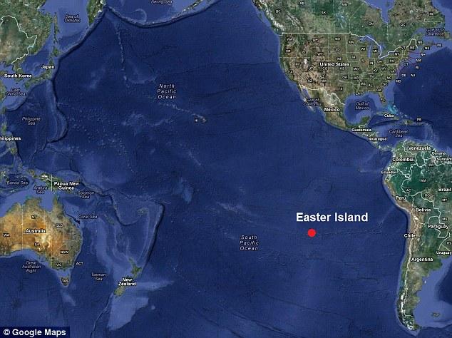 Easter Island Dec Th Dec Th JennieRae - Easter island map